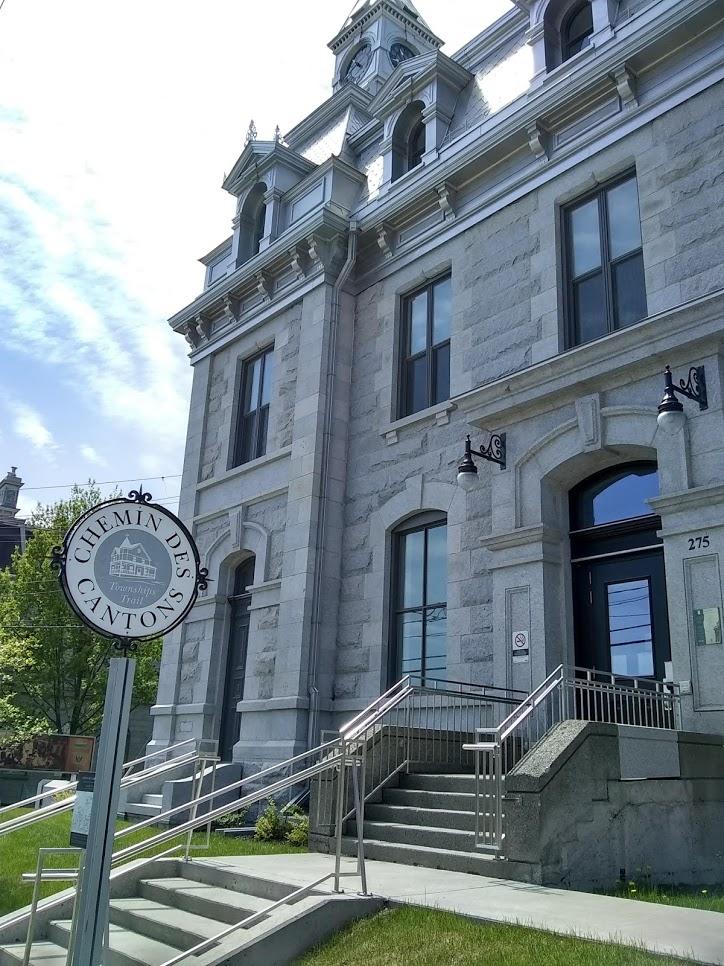 Façade du Musée d'histoire de Sherbrooke
