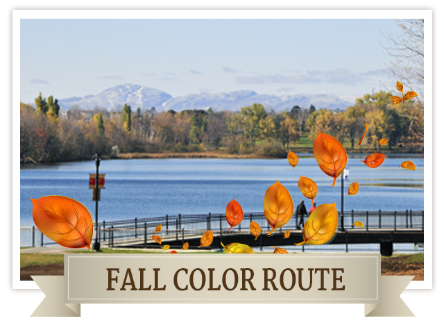 Fall color route