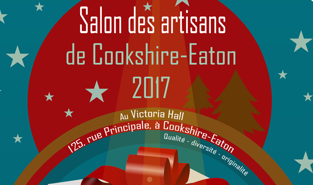 Christmas Market in Cookshire-Eaton - December, 9 and 10, 2017