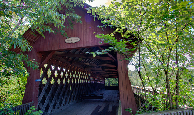 De la Frontiere Covered bridge
